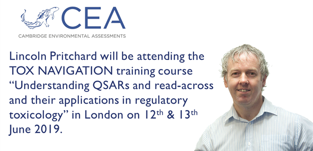 CEA attending Tox Navigation training course