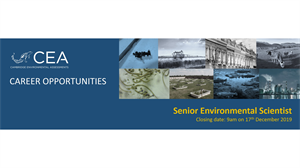 Job vacancy for a Senior Environmental Scientist