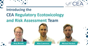 Introducing the CEA regulatory ecotoxicology and risk assessment team