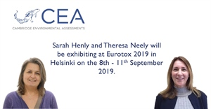 CEA will be exhibiting at Eurotox 2019 in Helsinki on the 8th - 11th September 2019