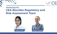 Introducing the CEA Biocides Regulatory and Risk Assessment Team