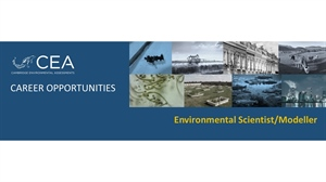 Job vacancy for Environmental Scientist / Modeller