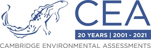 Cambridge Environmental Assessments celebrates 20 years developing novel solutions to solve complex regulatory issues for clients